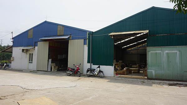 Xưởng sản xuất nội thất của Bantrasofa.net tại Thạch Thất và Long Biên