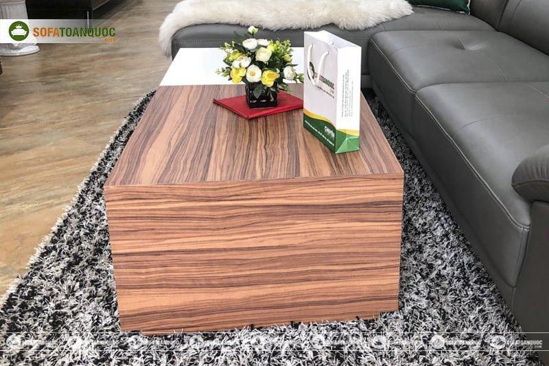 Sự kết hợp hài hoà giữa gỗ công nghiệp và gỗ hiện đại