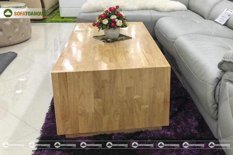 Giữ nguyên gam màu nguyên bản của gỗ tự nhiên với vân gỗ đẹp
