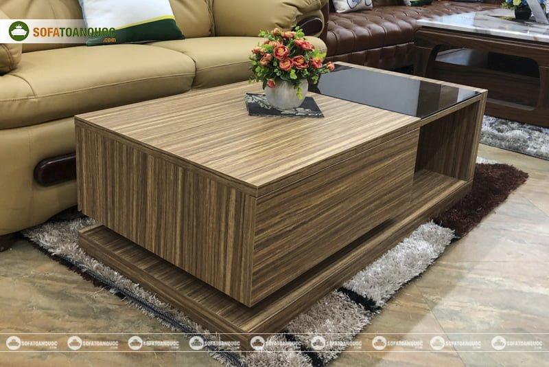 Kích thước của chúng phù hợp với đại đa số phòng khách và bộ ghế sofa hiện nay