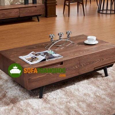 có nên mua bàn trà gỗ công nghiệp không?