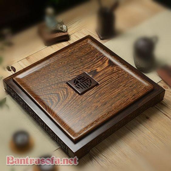 mẫu bàn trà Trung Quốc hình vuông đẹp