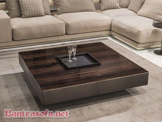 bàn trà vuông đẹp cho phòng khách