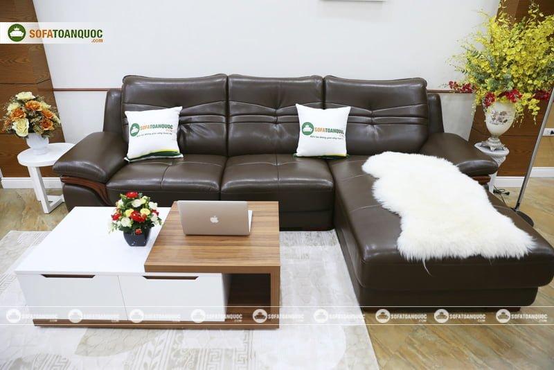 kích thước bàn trà sofa phòng khách
