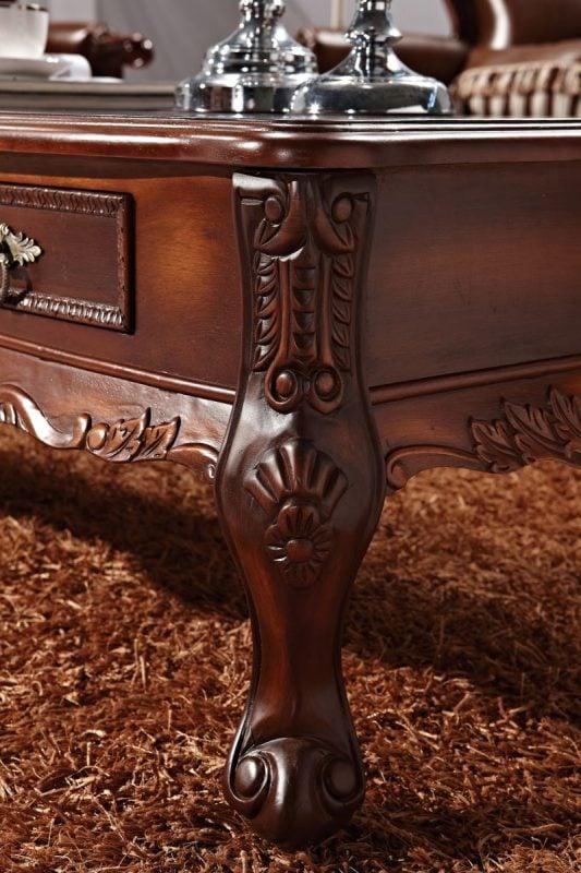 bàn trà sofa cao cấp phong cách tân cổ điển