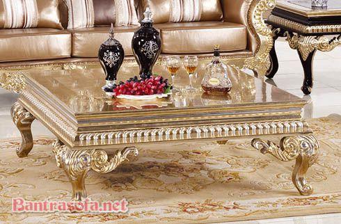 bàn trà nhật phong cách tân cổ điển