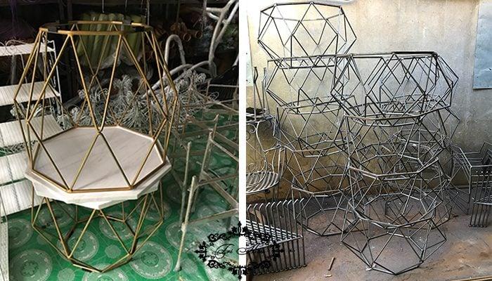 Bantrasofa.net sản xuất ra hàng trăm chiếc bàn trà hình kim cương mỗi năm phục vụ nhu cầu khách hàng