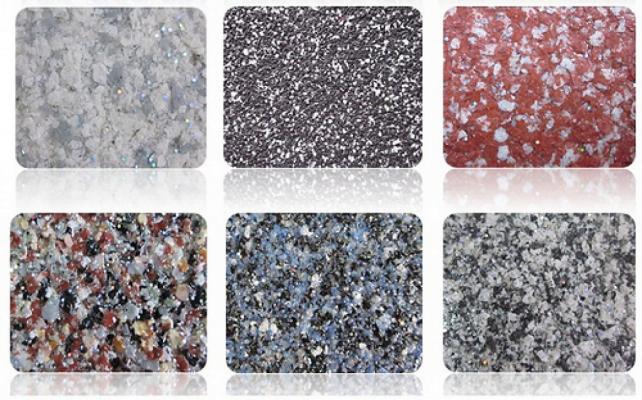 bảng màu đá hoa cương granite