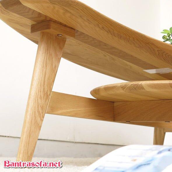 chân ghế sofa bằng gỗ