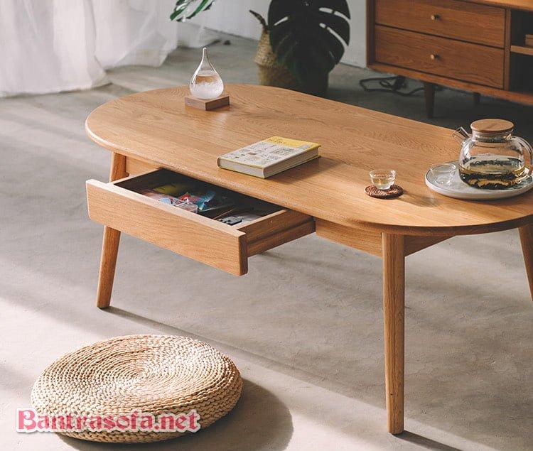 bàn trà sofa ngăn kéo nhỏ đẹp