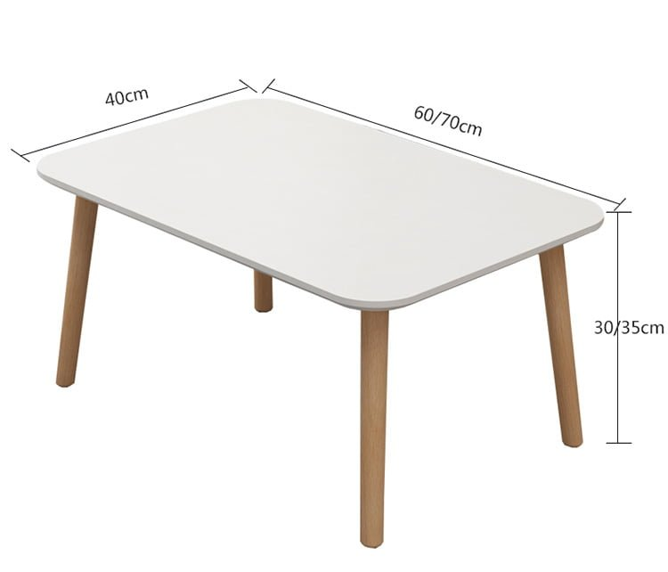 kích thước bàn trà btg11 dài 60cm