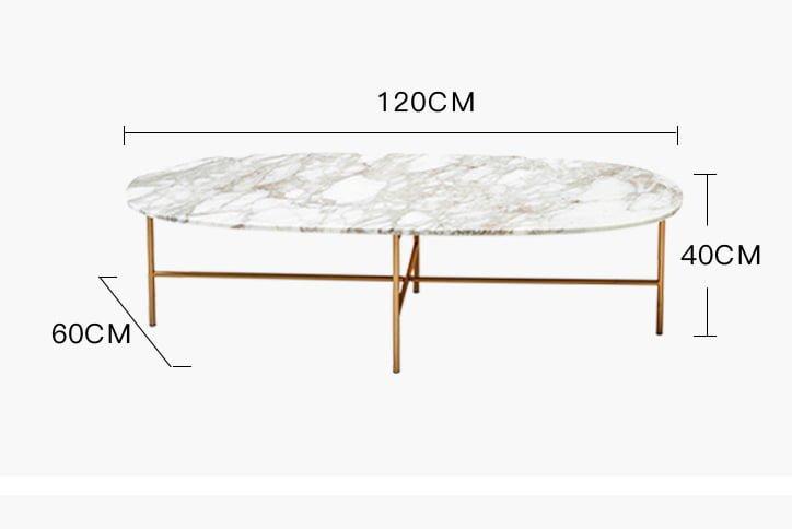 kích thước bàn trà mặt đá btmd04