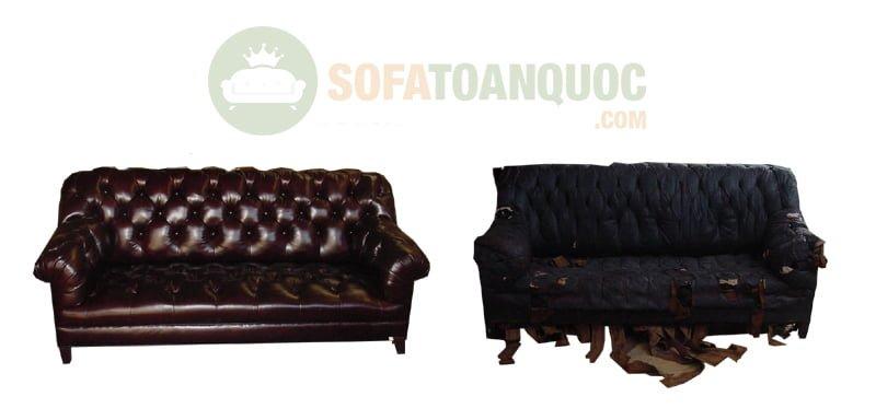 ưu điểm khi bọc lại ghế sofa