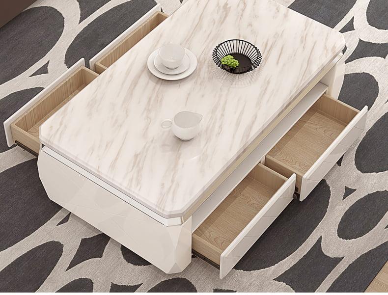 bàn trà sofa có 4 ngăn kéo