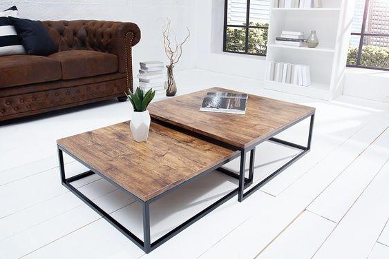 bàn trà sofa hình vuông kích thước lớn
