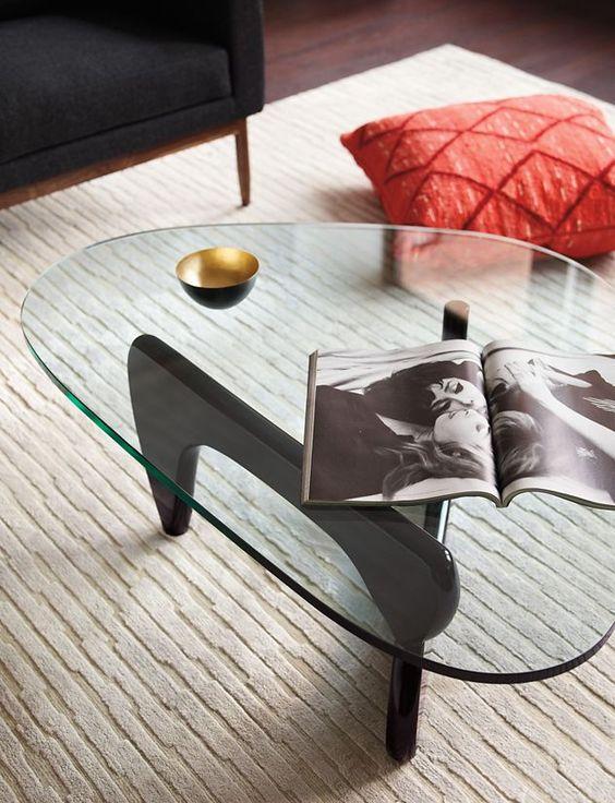 mặt kính bàn trà noguchi