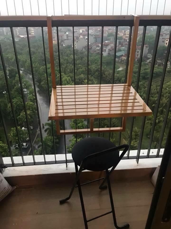bàn trà ban công dùng ngoài trời