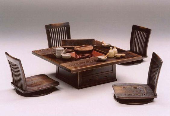 bàn trà sofa dạng ngồi bệt có ghế tựa lưng