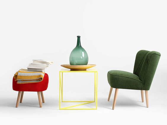 bàn trà nhỏ phong cách hiện đại