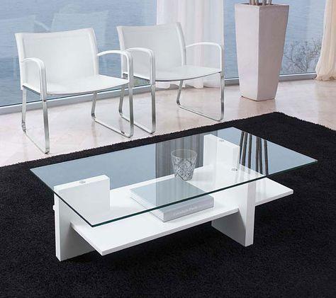 bàn trà mặt kính chân gỗ công nghiệp