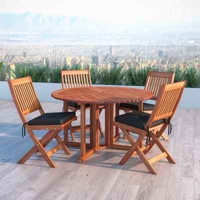 bộ bàn trà gỗ dùng ngoài trời hoặc khách sạn