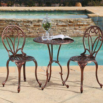 bàn trà sắt kiểu cổ điển sử dụng ngoài trời
