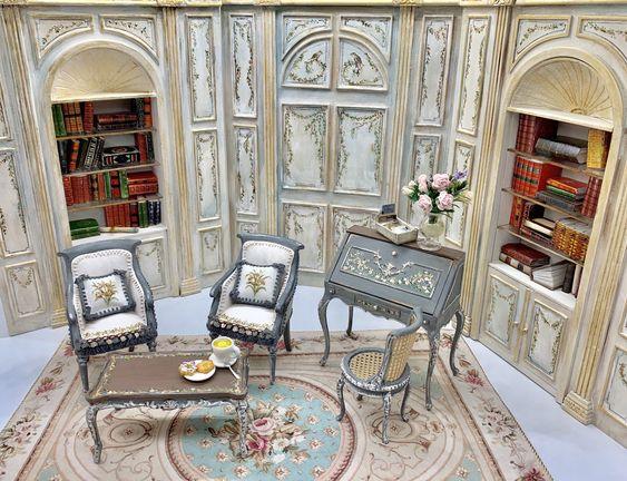 mẫu bàn trà nhỏ phong cách cổ điển