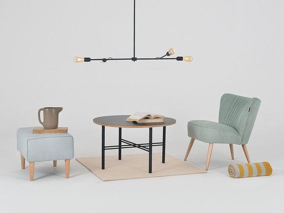 bộ bàn ghế uống trà ghế sofa và đôn