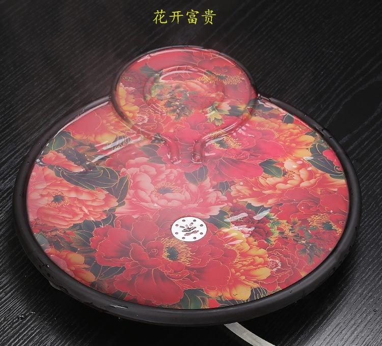 bộ bàn pha trà đổi màu đẹp