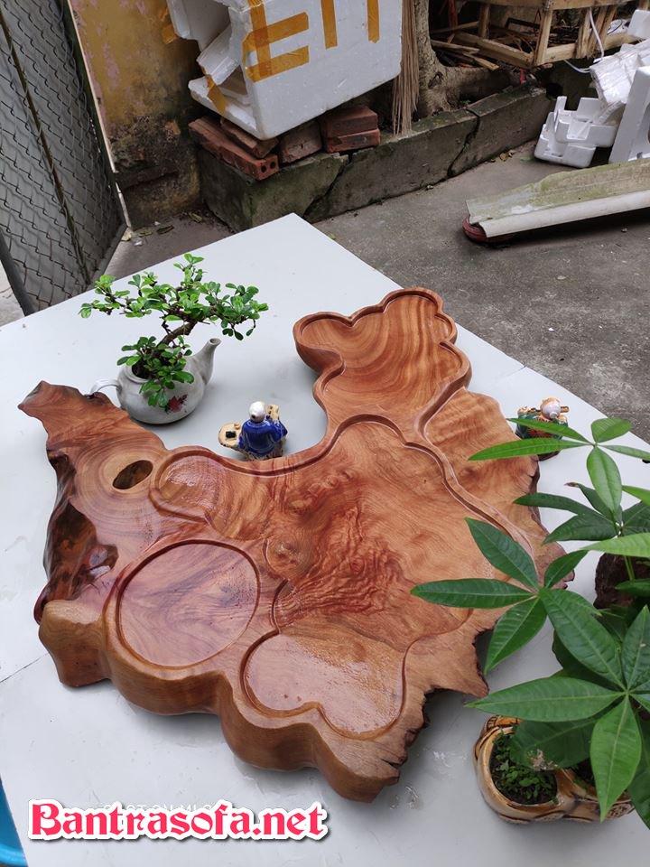 khay trà bằng gỗ tự nhiên đẹp