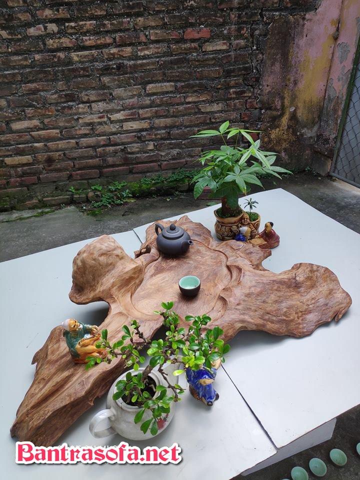 khay trà gỗ mỹ nghệ đẹp