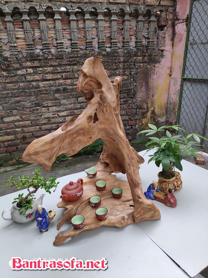 khay trà gỗ lũa tự nhiên đẹp