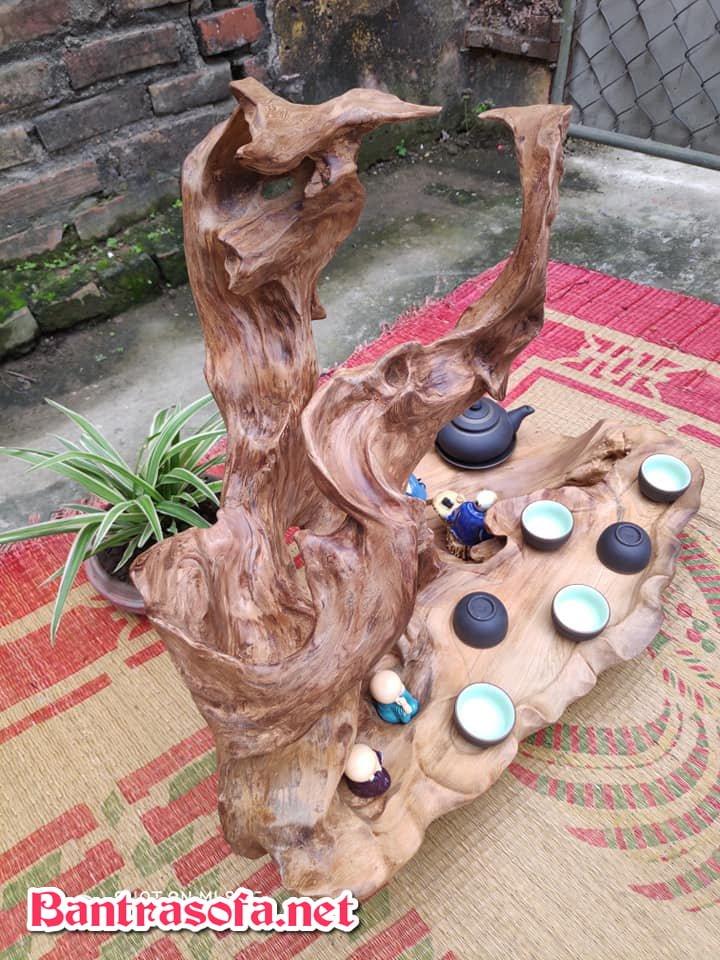khay trà gỗ lũa đẹp cao cấp