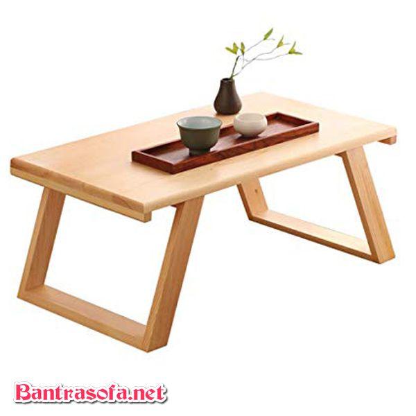 bàn osin gấp gỗ xoan đào