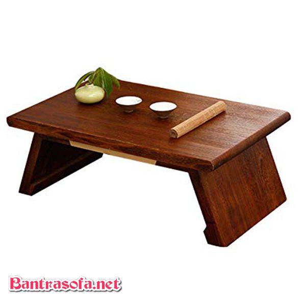 bàn osin chân gấp kiểu nhật gỗ tốt