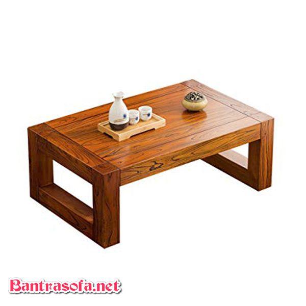 bàn osin nhật chân thấp gỗ sồi