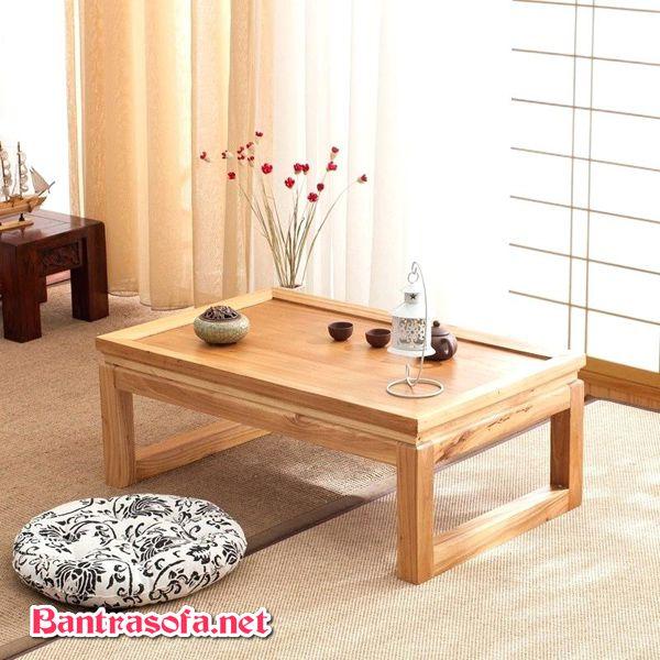 bàn osin gỗ sồi kiểu đơn giản
