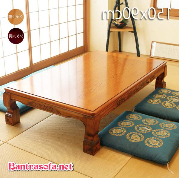 bàn osin Nhật gỗ sồi