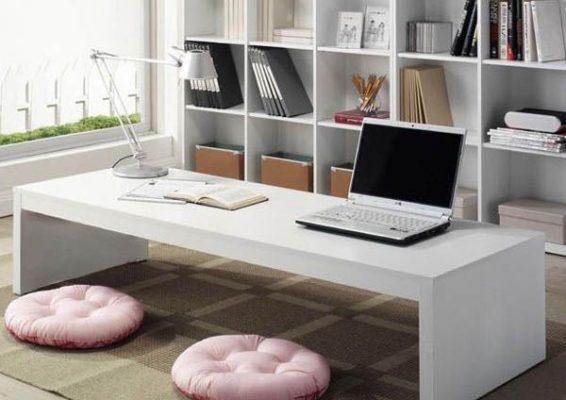 bàn trà ngồi bệt kiểu nhật kiểu dáng hiện đại