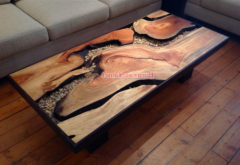 bàn trà gỗ nguyên gối đẹp