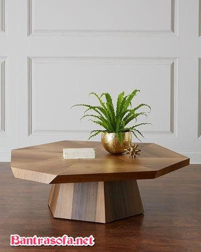 bàn trà gỗ đơn giản hiện đại