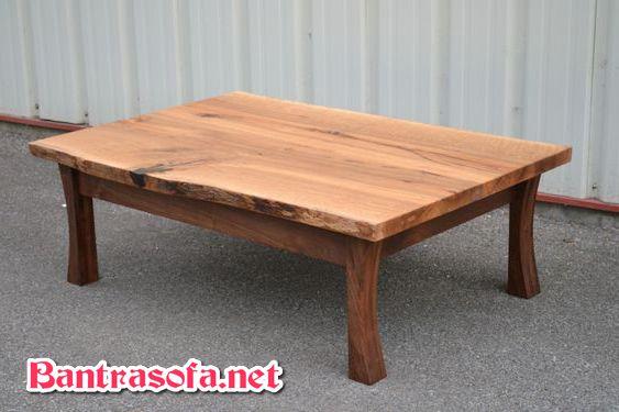 bàn trà gỗ sồi phong cách Nhật