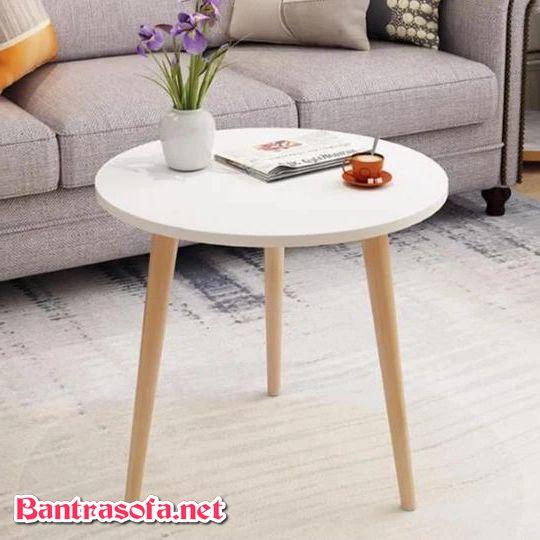 bàn sofa nhỏ gọn phong cách Bắc ÂU
