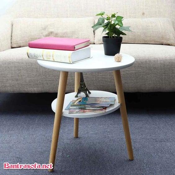 bàn trà sofa mini nhỏ decor bắc âu