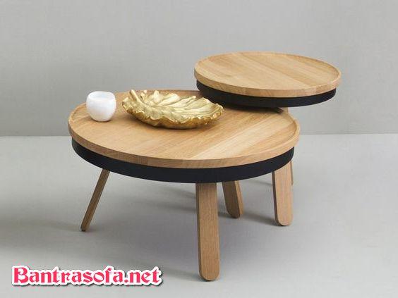 bàn trà chân thấp kiểu Nhật Bản