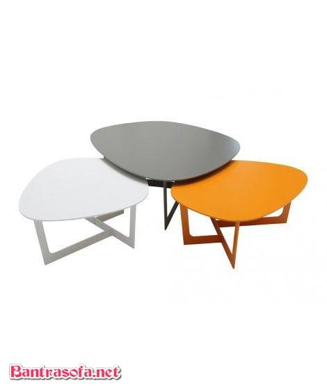 bộ 3 bàn trà phong cách scandinavi