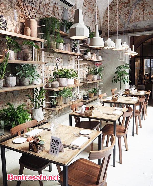 bàn ghé tự nhiên cho phòng trà