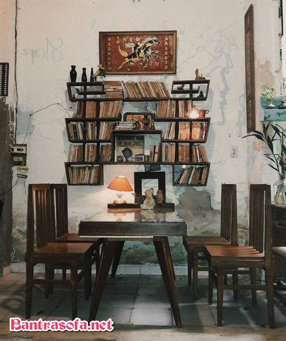 bàn ghế phòng trà đẹp xưa cũ