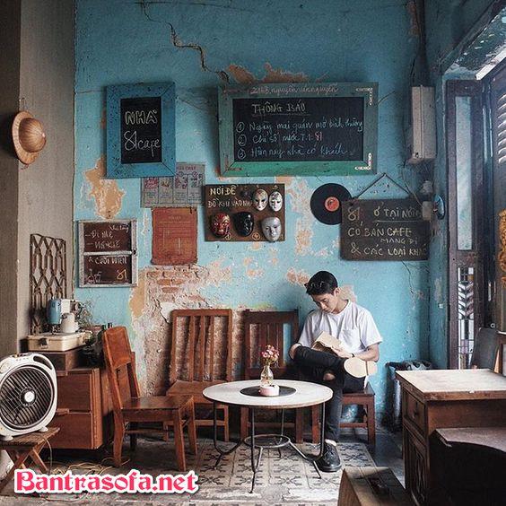 phòng trà phong cách xưa cũ