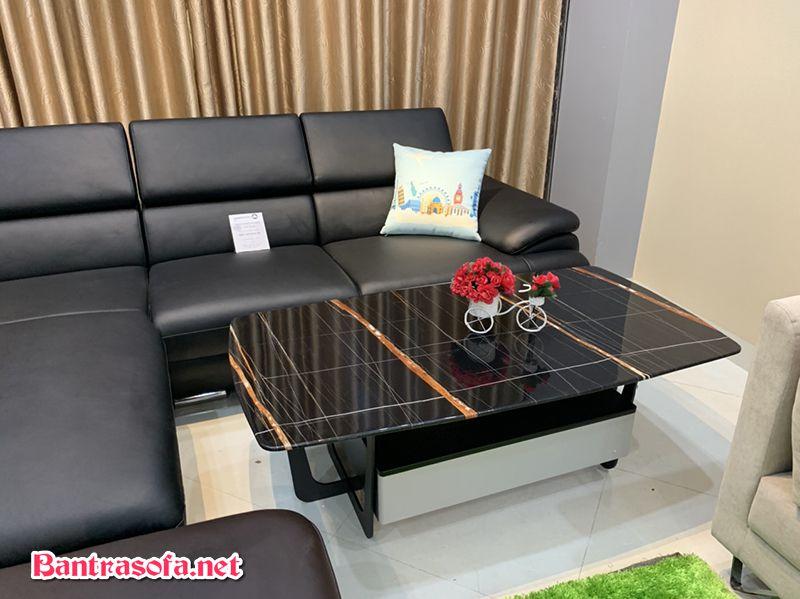 Chân bàn trà cách điệu đẹp mắt và tinh tế với mẫu bàn trà sofa đẹp.